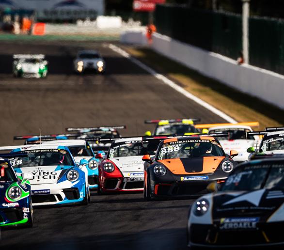 Porsche Cup Benelux 2018